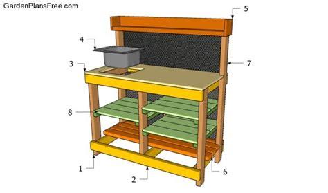 garden greenhouse potting bench plans garden xcyyxh