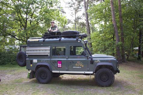 Featured Vehicle 4wheelnomads' Land Rover Defender