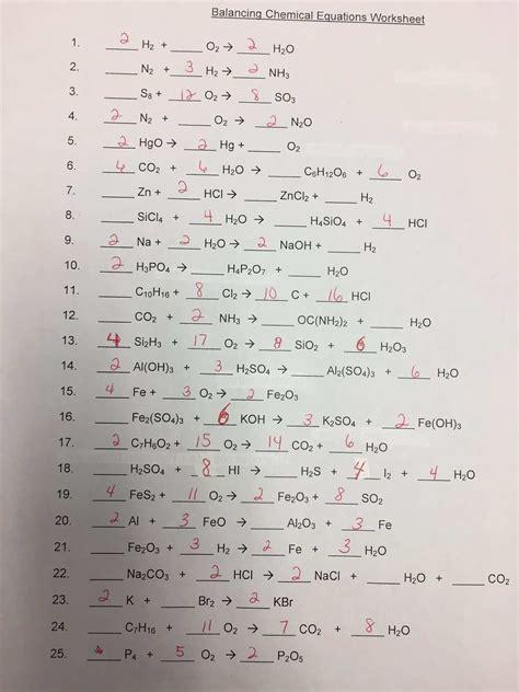 H2 2 hcl 4 o 2 ch 4 3 co 3 2 naoh part b: Inspirational Phet Balancing Chemical Equations Worksheet ...