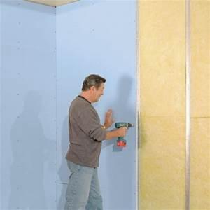 Dokončení stěn se sádrokartonovými deskami