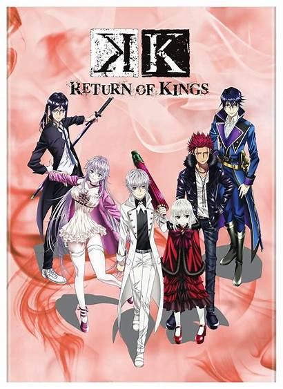 Kings Return Dvd Anime Project Series Episodes