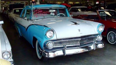 1955 Ford Fairlane Club Sedan 272 Y block V8 - YouTube
