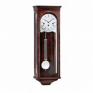 Kieninger Classic Key-wind Regulator Wall Clock - Walnut