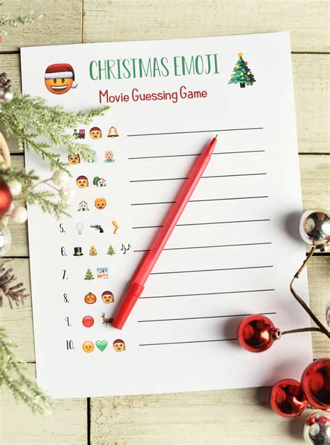 guessing games for christmas emoji songs squared
