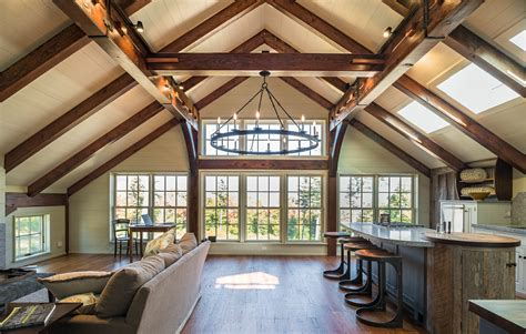Barns Homes by Barn Home With A Douglas Fir Timber Frame