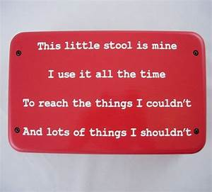 7 best images about This little stool is mine on Pinterest