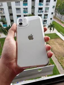 Iphone 11 Pro Max White In Hand