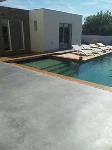 carrelage design carrelage plage piscine moderne With plage de piscine en carrelage