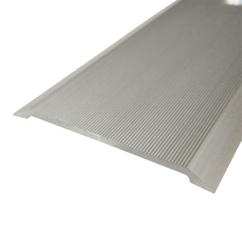 columbia aluminum 2 1 2 in carpet trim transition strip
