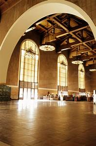 1970 S Designs Los Angeles Union Station Waiting Room 1970s Amtrak