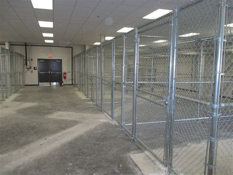 Lockable Chain Link Cages – Newsom Fence Company
