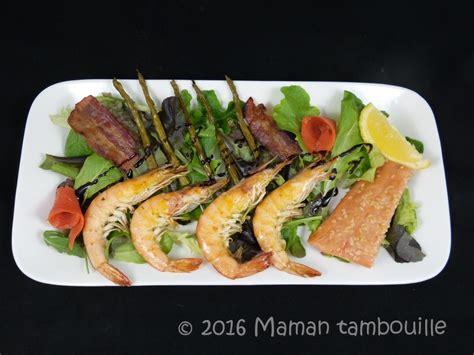 recette de cuisine salade terre et mer maman tambouille