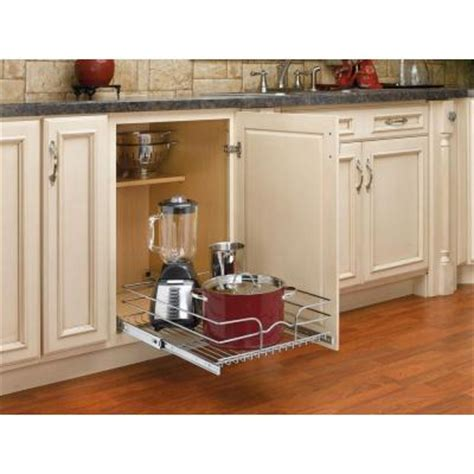 small kitchens with cabinets rev a shelf 7 in h x 18 in w x 22 in d pull out wire 8110