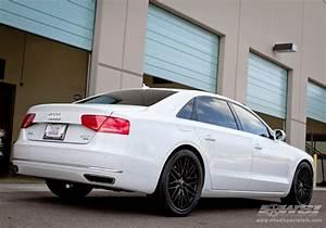 """2013 Audi A8 with 22"""" Savini Cast BM-4 in Black (Matte ..."""