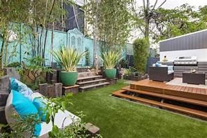 terrain en pente terrassement zm23 jornalagora With amenagement exterieur terrain en pente 2 mur gabion dans le jardin moderne un joli element fonctionnel