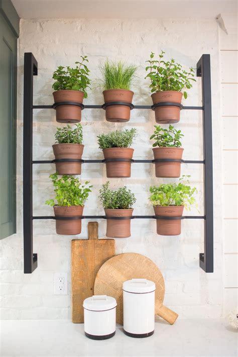 Indoor Herb Garden Pot Planters Ideas by Best 25 Herb Rack Ideas On Wall Herb Garden