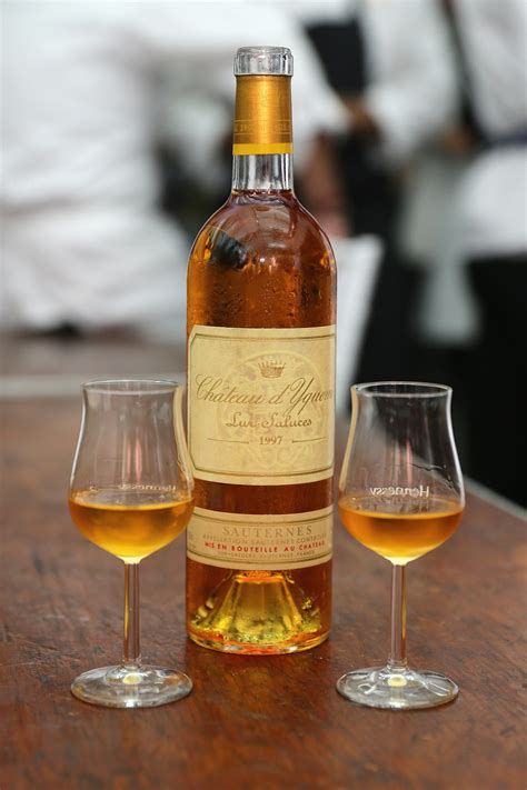 chateau d yquem the superior growth of sauterne oh my luxury