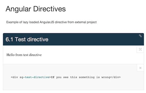 angular directive how to automate style guide driven development smashing magazine