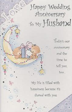 happy anniversary cards  husband cute cards
