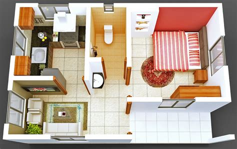 Small L Shaped Kitchen Designs With Island 50 One 1 Bedroom Apartment House Plans Architecture Design