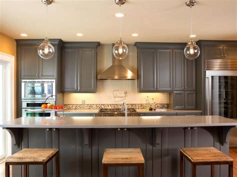 painted kitchen cabinets ideas ideas for painting kitchen cabinets pictures from hgtv 3985