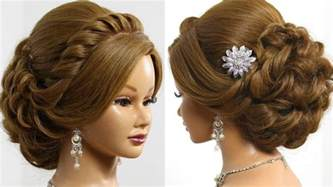 hair styles for wedding bridal hairstyle for medium hair tutorial updo
