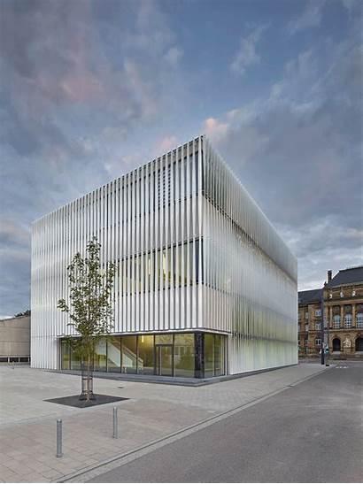 Gymnasium Facade Architecture Kepler H4a Humboldt Sporthalle