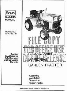 Craftsman 917 253724 Owners Manual