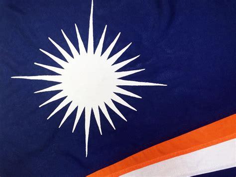 Marshall Islands flag - EASYFLAGS.CO.UK partnership