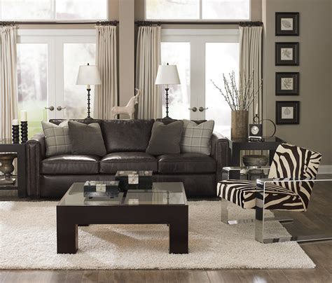 zebra print living room bernhardt furniture