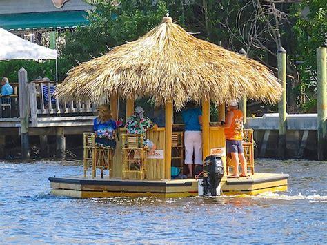 Tiki Bar Boat by Tiki Hut Boat Lyonsroar