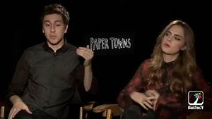 Paper Towns - Cara Delevingne is a Tough Self-Critic - YouTube