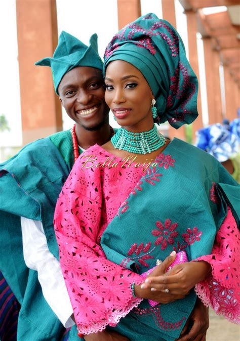 A Pretty Peacock Wedding in Lagos Traditional Engagement