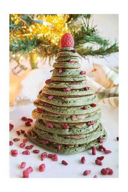 Christmas Tree Pancakes Vegan Pancake Fun Recipes