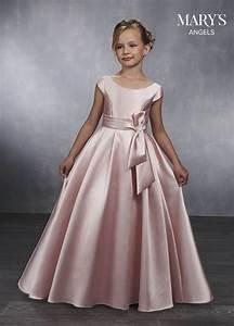 Angel Flower Girl Dresses Style Mb9032 In Blush Ivory