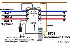 How To Wire Motor Control Contactor