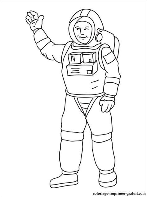 coloriage astronaute  imprimer pour les enfants cp