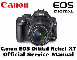 Canon Eos Digital Rebel Xt Parts Catalog Service Manual