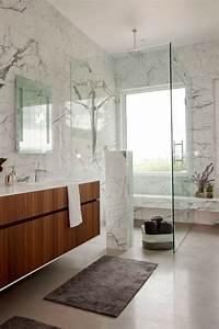 Marbre Salle De Bain : id e d coration salle de bain le marbre donne de l ~ Dailycaller-alerts.com Idées de Décoration