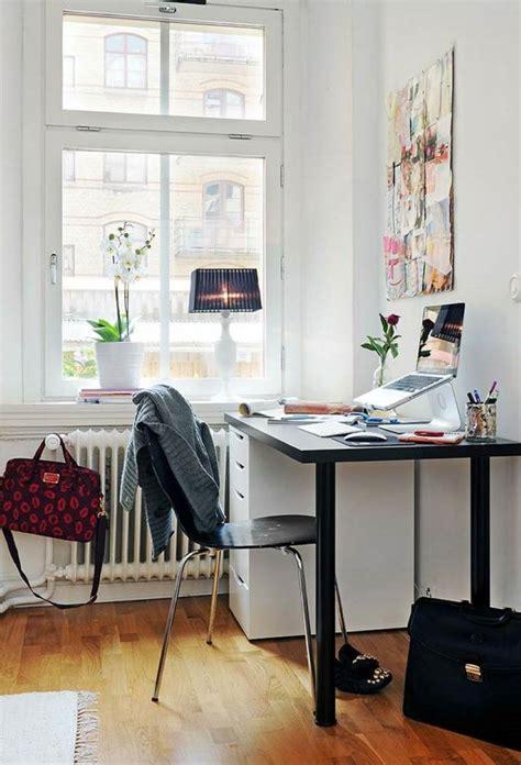 meuble bureau noir bureau scandinave 50 idées pour un coin de travail pratique