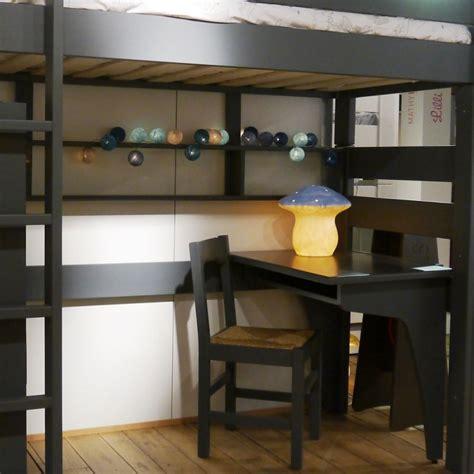 bureau surélevé bureau droit et d 39 angle pour lit superposé mathy by bols