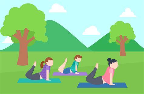 Yoga is one of the six orthodox schools of hindu philosophy. Outstanding Set of Yoga Instructor Vectors - Download Free ...