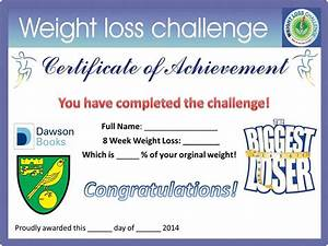 by vp published september 10 2014 full size is 960 With biggest loser certificate template