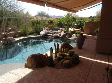 small space big assets  anthem patio design desert