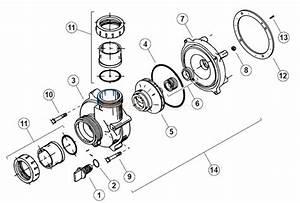 Vico Ultimax Spa Pump Parts