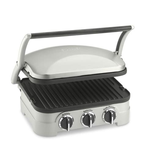 Kitchenaid Grill Panini by Cuisinart Griddler Grill Griddle Panini Press