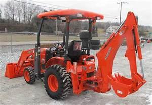 Kubota B26 Tl500 Bt820 Tractor  Front Loader  Backhoe Workshop Manual Download