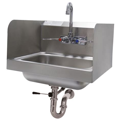 advance tabco 7 ps 40 wall mount commercial hand sink w