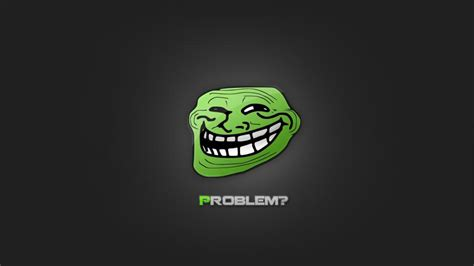 Funny Meme Problem Gray Background Wallpaper Other