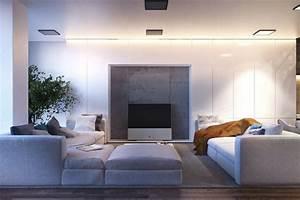 Wohnzimmer Gestalten Grau : ideen zum wohnzimmer einrichten in neutralen farben ~ Michelbontemps.com Haus und Dekorationen